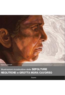 Illustrazioni ricostruttive delle sepolture neolitiche di Grotta Mora Cavorso